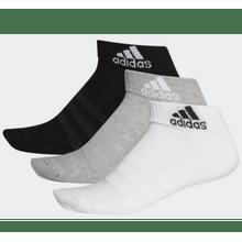 Meias Unissex Adidas Cushioned Ankle - DZ9364