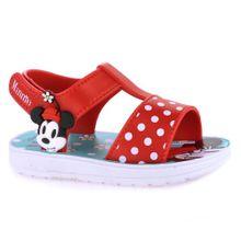Sandália Infantil Feminina Disney Minnie Mouse - 22302.21523