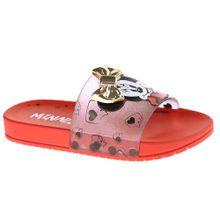 Chinelo Slide Infantil Feminino Disney Minnie Mouse - 22316.25365