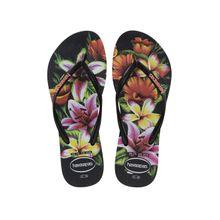 Chinela Feminina Havaianas Slim Floral